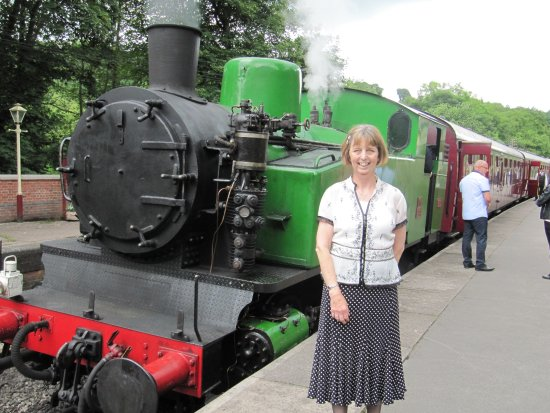 Froghall, UK: Me and Hotspur the engine.