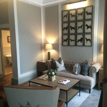 The Principal Edinburgh George Street: Suite Sitting Room Part 52