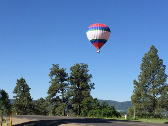 Pagosa Springs Center for the Arts: This picture taken from the front yard.