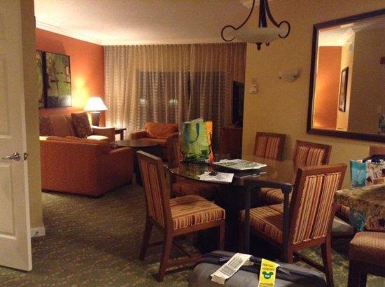 Marriott's Villas at Doral: living