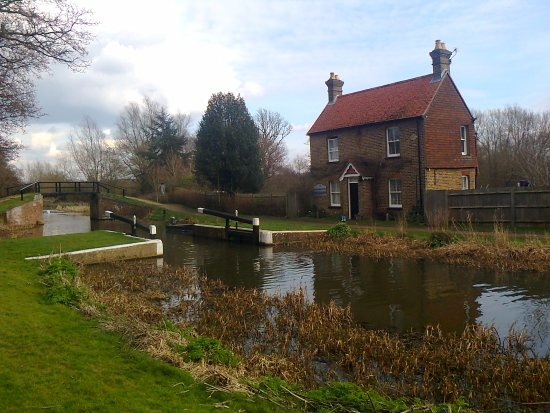 Ripley, UK: Walsham Lock