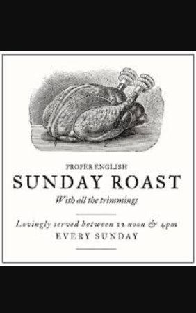 Whitfield, UK: Sunday roast