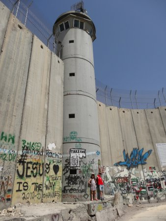 Green Olive Tours - Day Tours : Separation wall