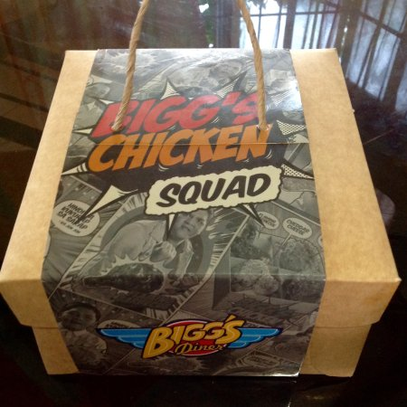 Bigg's Diner: The Bigg's Chicken Squad: choose you're bet among the 5 awesome flavors of Bigg's Chicken.