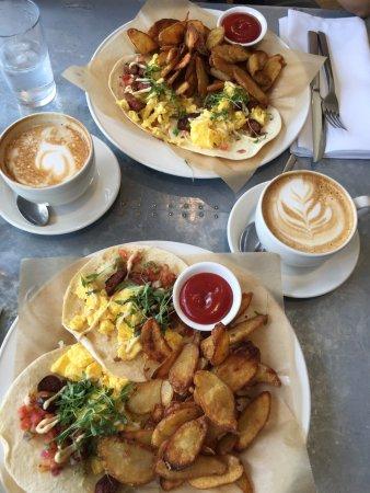 Oxford Exchange Breakfast Tacos