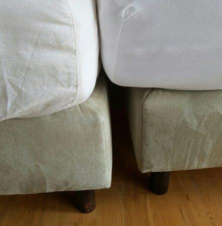 Apartamenty Zakrzowek: Rozjeżdżające się łużko małżeńskie