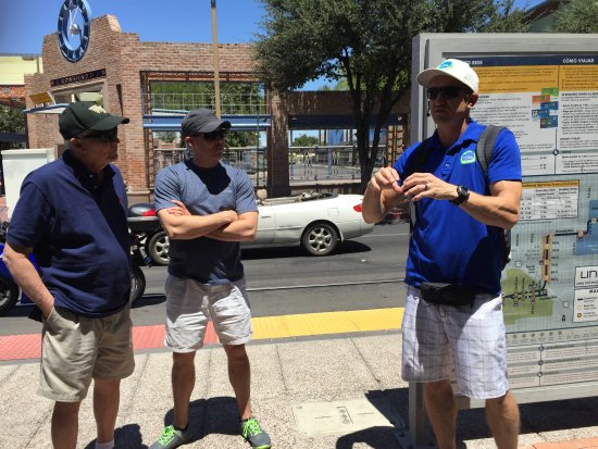 Tucson Food Tours: Brad gives some history of Tucson