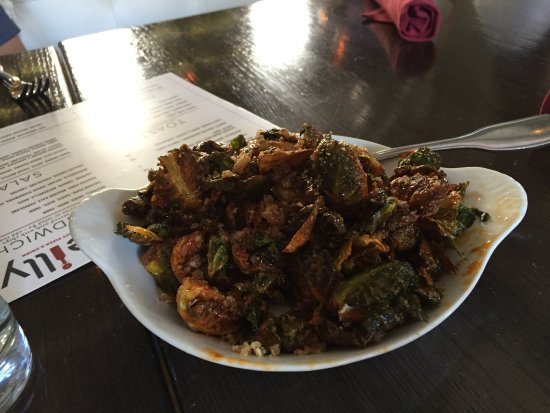 Tucson Food Tours: Brussel Sprouts! YUM!