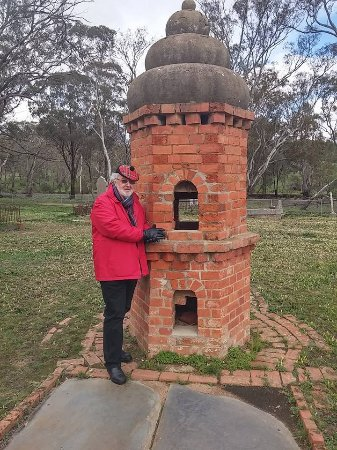 Maldon, Australia: Chinese mourners would use this for the burning of incense to respect their dead.