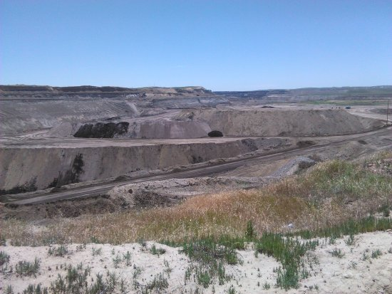 Gillette, WY: Mine overlook