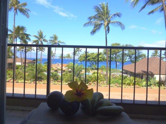Aston Maui Kaanapali Villas: Balcony view