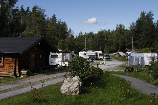 Oddestemmen Steinsliperi og Camping: Shop and reception.
