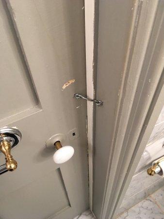 Hughson Hall: Bathroom Lock