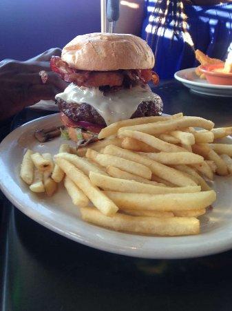 Red Planet Diner: burger