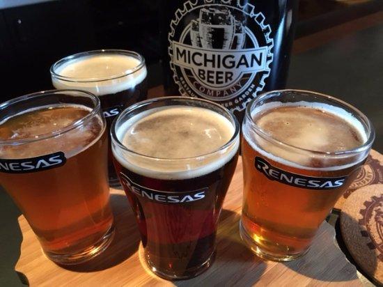 Craft Beer Samples Picture Of Michigan Beer Company Novi