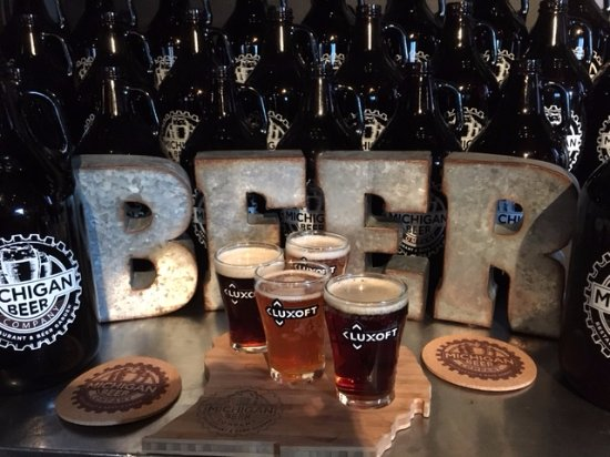 More Craft Beer Samples Picture Of Michigan Beer Company Novi
