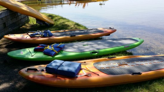 Saint Germain, WI: Preparing for SUP Yoga