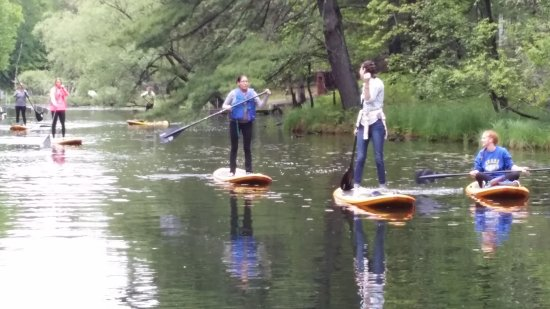 Saint Germain, Висконсин: A bachelorette weekend with paddling included