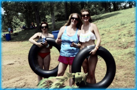 Isle La Motte, VT : tubing at the offsets
