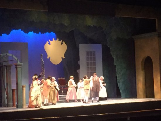Eastman Theatre: Watching the rehearsal of Figaro