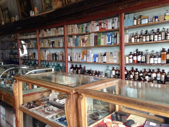 Fairplay, CO: At the general store or the pharmacy (pharmacy, I think)