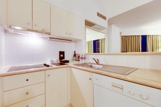 Oakwood Hotel Apartments Brisbane 2 Bedroom Loft Apartment Full Kitchen