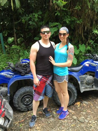 Safari Tours de Manuel Antonio : The ATVs were really clean and well maintained