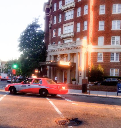 The Fairfax at Embassy Row, Washington D.C.: outside front of Fairfax
