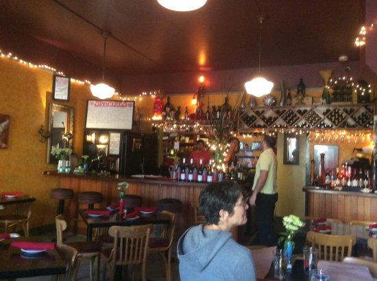 The Fountain Cafe: Interior of Fountain Cafe