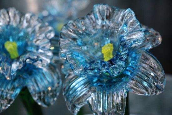 Corning, Νέα Υόρκη: glass flowers