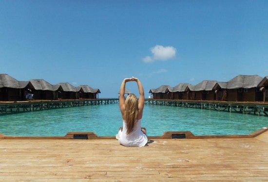 Arena Lodge Maldives: Fihaalhohi Island Resort.