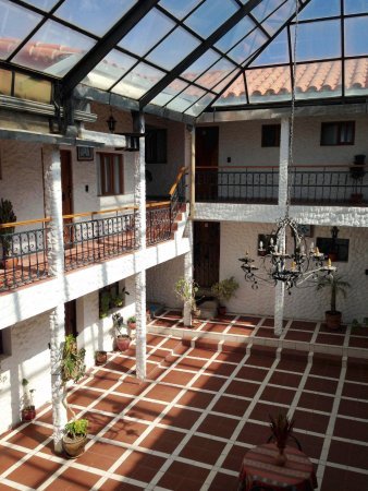 Hostal Magia de San Juan: interior courtyard