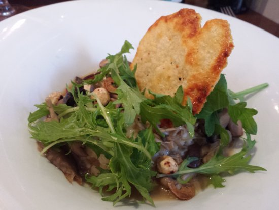 The Left Bank: Mushroom risotto