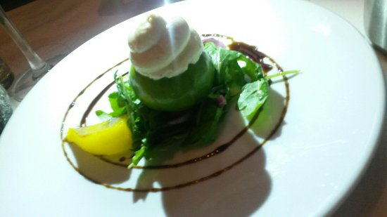 Vina Mara Restaurant & Wine Bar: Baked fig with Galway goat's cheese