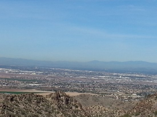 South Mountain Park: A view from the top