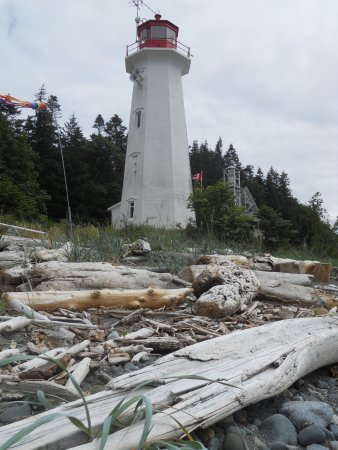 Quathiaski Cove, Canada: Cape Mudge Lighthouse.