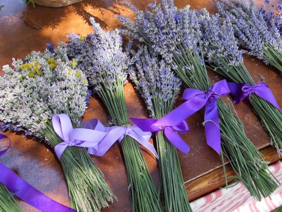 Cherry Valley, CA: Lavender bouquets
