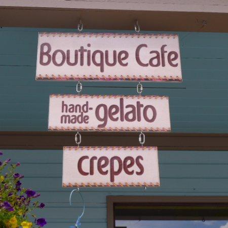 New Denver, Kanada: advertising their specialities