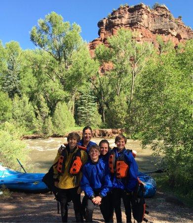 BootDoctors Telluride: Wonderful white water rafting trip with Nicko!