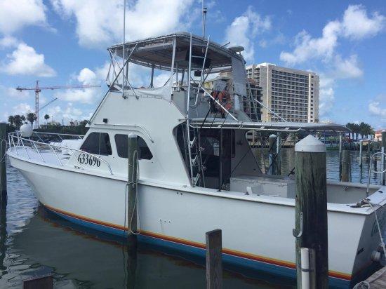Gulfstream II Fishing Charters: the boat
