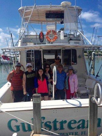 Gulfstream II Fishing Charters: group photo!