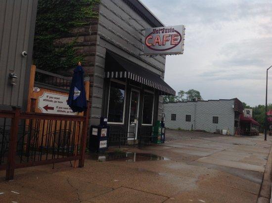 Bayport, Миннесота: Front of Cafe
