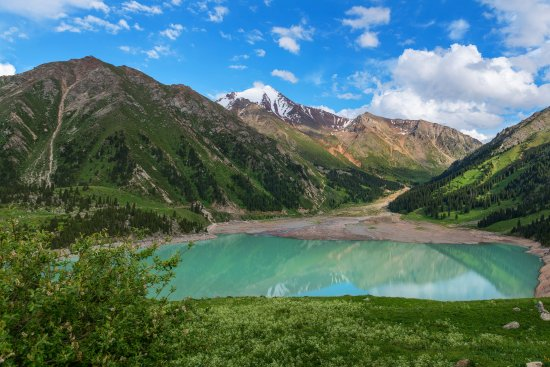 Алматы, Казахстан: Big Almaty lake