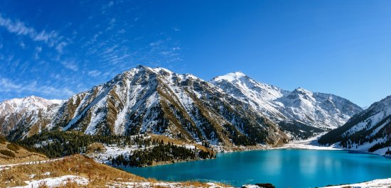 Big Almaty Lake (winter)