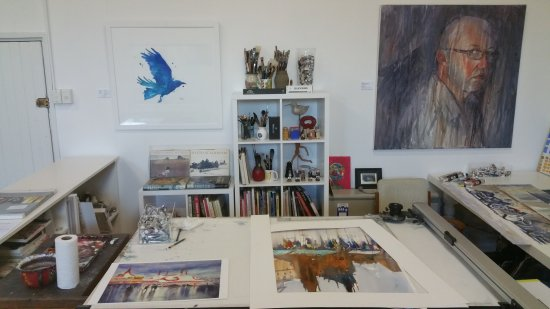 Studio Space - where the magic happens