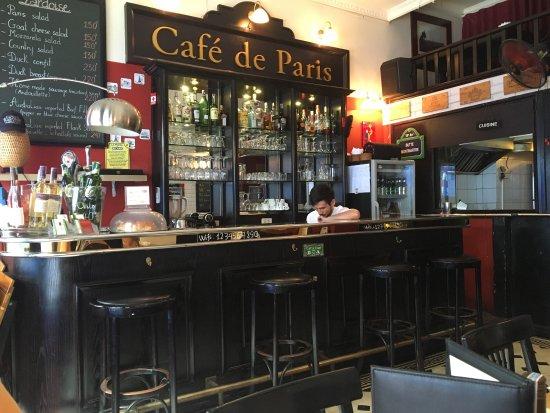 Café de Paris : Erg leuk Frans plekje om te eten!