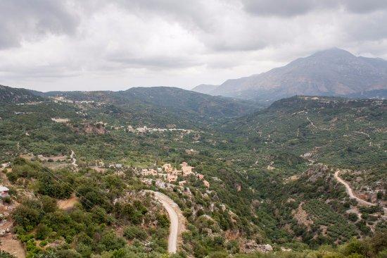 Axos, Grecia: Enagron von oben