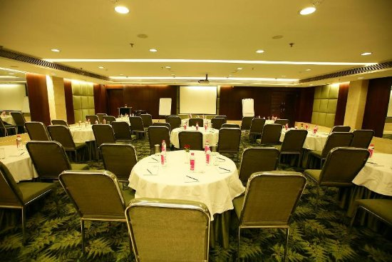 The Muse Sarovar Portico: conference hall