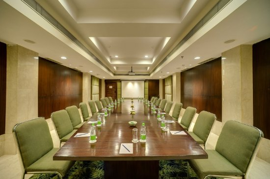 The Muse Sarovar Portico: board room