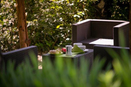 Castiglion Fiorentino, Italia: Relaxing area